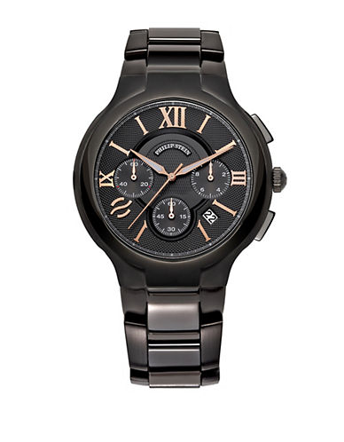 Mens Round Chronograph Watch