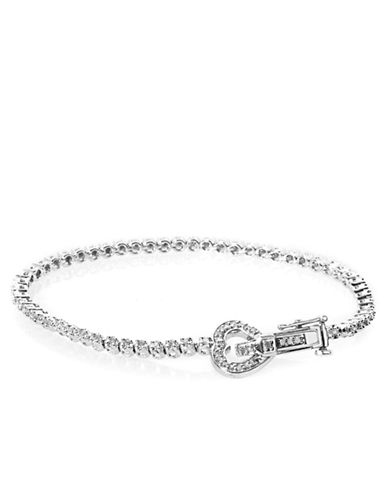 LORD & TAYLORDiamond And Sterling Silver Tennis Bracelet, 0.52 TCW