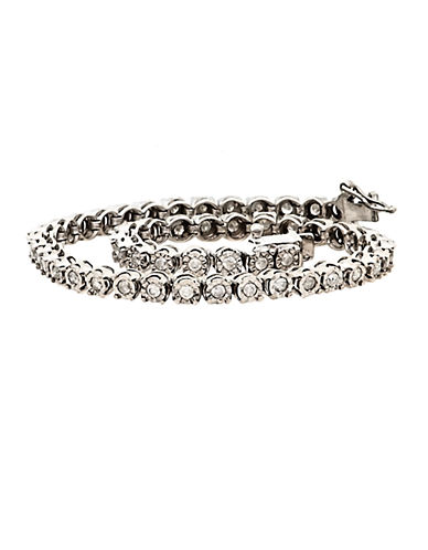 LORD & TAYLORDiamond And Sterling Silver Tennis Bracelet, 1.0 TCW