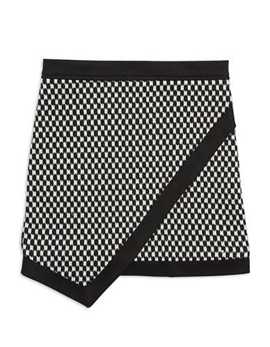 SALLY MILLERGirls 7-16 Checkered Wrap Skirt