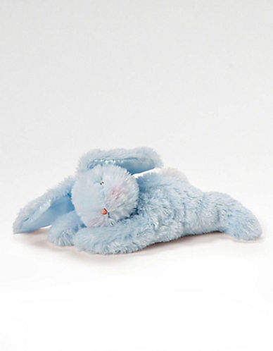 Plush Blue Sleepy Bunny