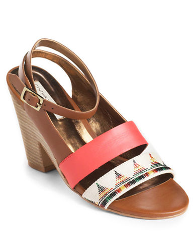 12TH STREET BY CYNTHIA VINCENT Pamela Leather Sandals - Lord and Taylor