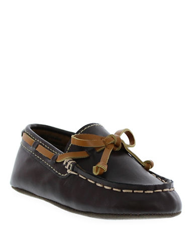 kenneth cole new york female 211468 flexy leather boat shoes