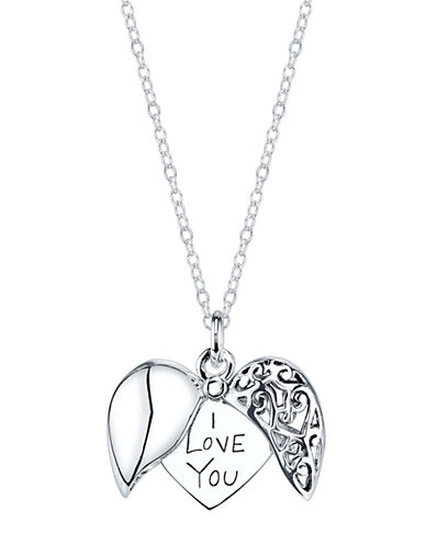 LORD & TAYLORSterling Silver Hidden Message Pendant