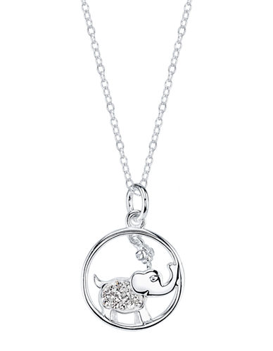 LORD & TAYLORSterling Silver Cubic Zirconia Elephant Pendant