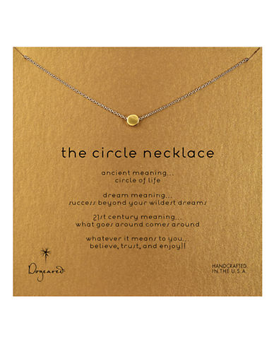 DOGEARED 'The Circle' Necklace