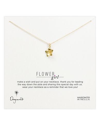 DOGEAREDFlower Girl Pendant Necklace
