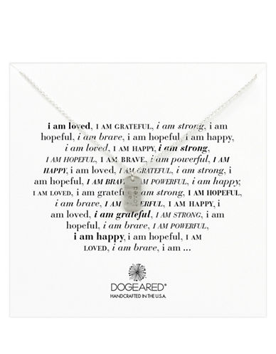 DOGEARED'I Am Loved' Dog Tag Necklace
