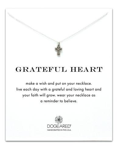 DOGEAREDGrateful Heart Reminder Necklace