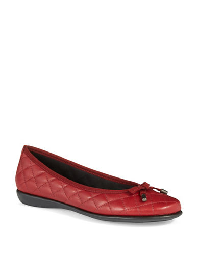 THE FLEXXBon Gout Quilted Leather Flats