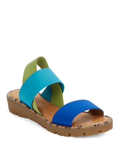 THE FLEXXSun Stretch Flatform Sandals