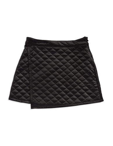 KIDDOGirls 7-16 Quilted Wrap Skirt