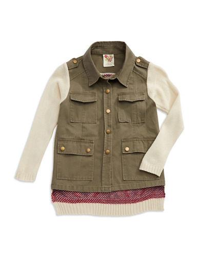 KIDDOGirls 7-16 Aztec Jacket