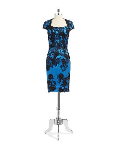 JULIAN JOYCEFloral Lace Dress