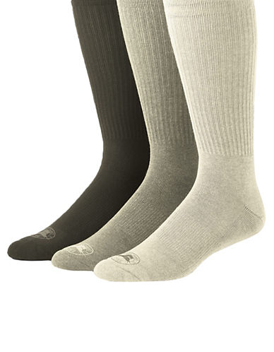 TOMMY BAHAMA Three-Pack Casual Cushioned Crew Socks