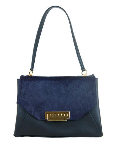 ZAC ZAC POSENEartha Leather and Hair Calf Envelope Shoulder Bag