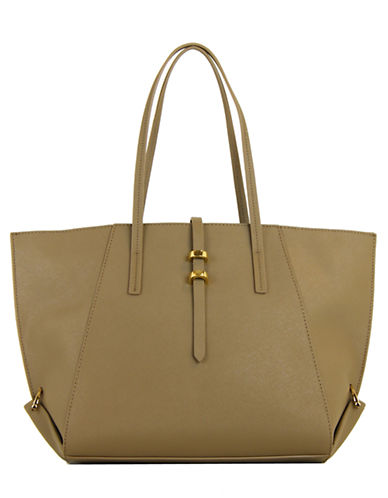 Zac Zac Posen Eartha Leather Shopper Tote
