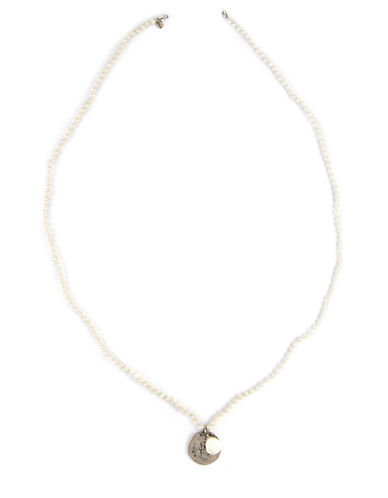 CHAN LUU Cultured Freshwater Pearl and Sterling Silver Pendant Necklace