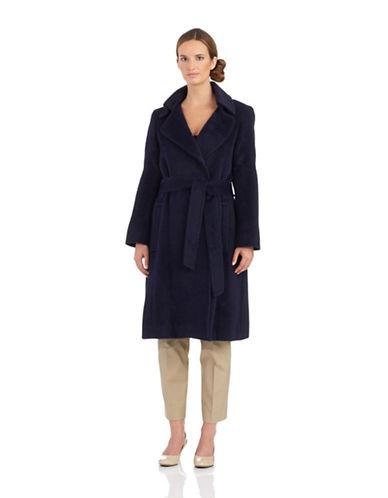 SOFIA CASHMEREBelted Wrap Coat