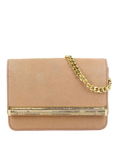IVANKAStingray Embossed Leather Shoulder Bag