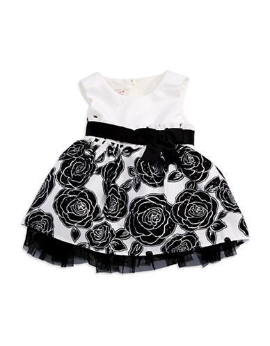 MY PRINCESS WEAR Floral Fit and Flare Dress