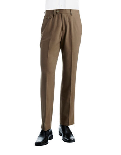 BLACK BROWN 1826Twill Casual Pants