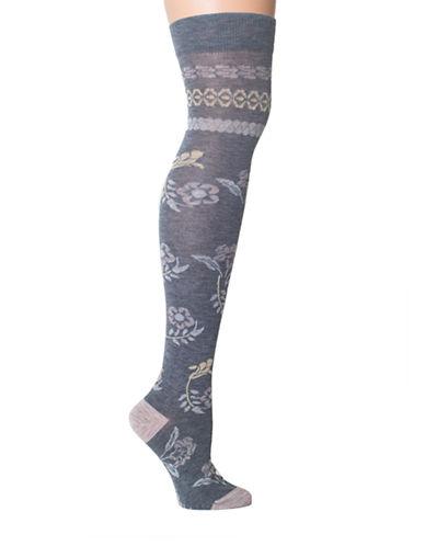 LEMONArtisan Floral Knee High Socks