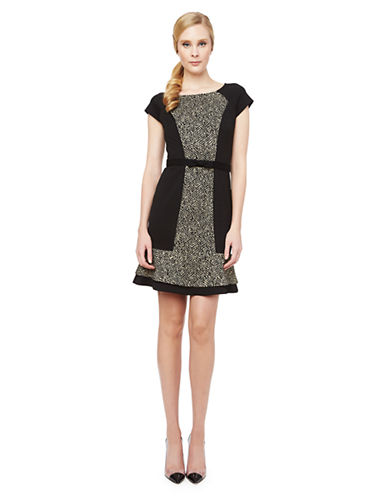 ERIN FETHERSTONLiza Paneled A Line Dress