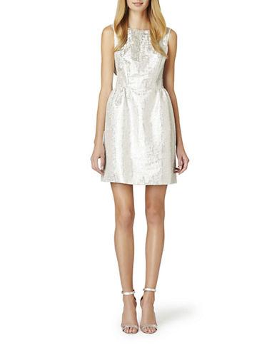 ERIN FETHERSTONWinnie Metallic Bow Back Dress