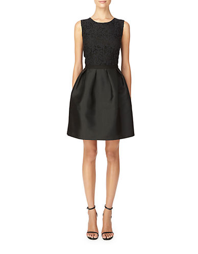 ERIN FETHERSTONLace Bodice Fit and Flare Dress