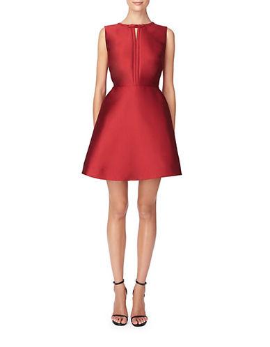 ERIN FETHERSTONKeyhole A-Line Dress
