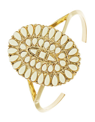 HOUSE OF HARLOW 1960Decorated Cuff Bracelet