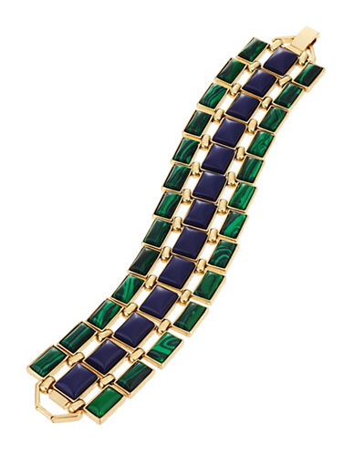 HOUSE OF HARLOW 1960Bead and Chain Tennis Bracelet