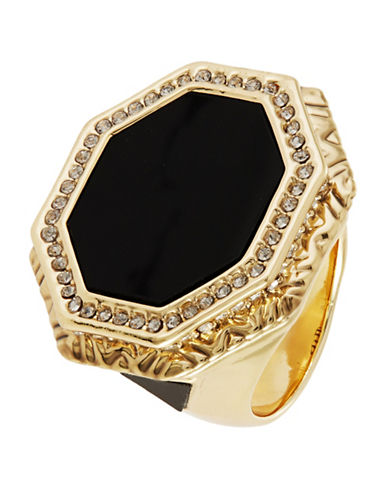 HOUSE OF HARLOW 1960Octagon Statement Ring