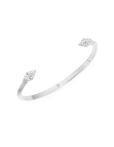 HOUSE OF HARLOW 1960Etched Pave Cuff Bracelet