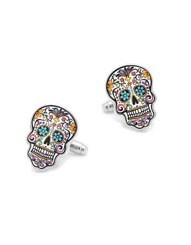 CUFFLINKSDay of the Dead Skull Cufflinks