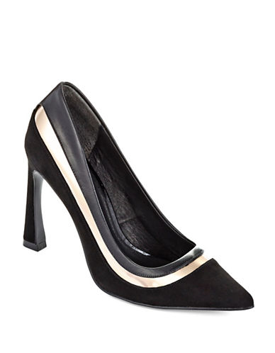 ADRIANNA PAPELL Diandra Two-Toned Pumps