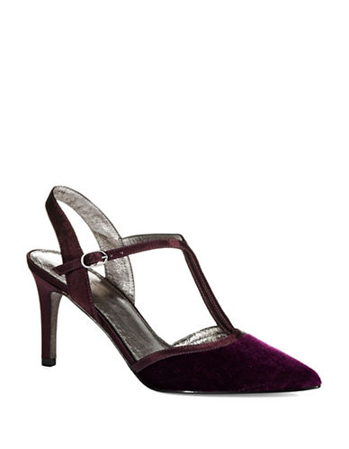 ADRIANNA PAPELL Helena T-Strap Pumps