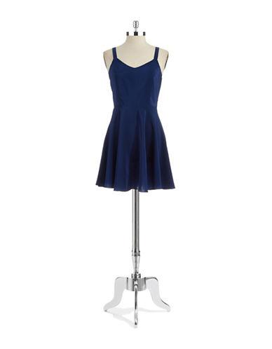 AMANDA UPRICHARDSilk Fit-And-Flare Dress