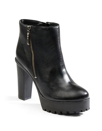 SCHUTZNena Leather Platform Ankle Boots