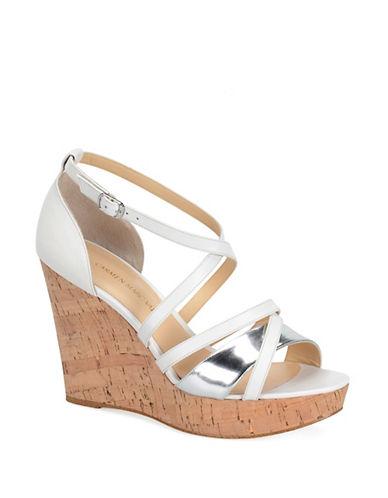 Carmen Marc Valvo Sabina Wedge Sandals