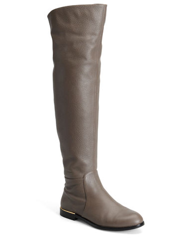 CARMEN MARC VALVO Drina Tumbled Leather Tall Boots