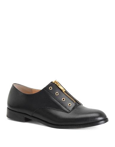 CARMEN MARC VALVOSusie Leather Zip Loafers