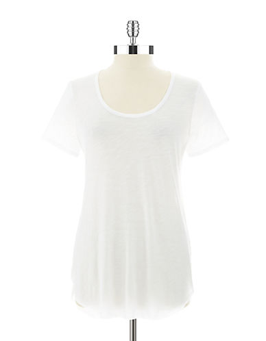 424 FIFTH Sheer Tee