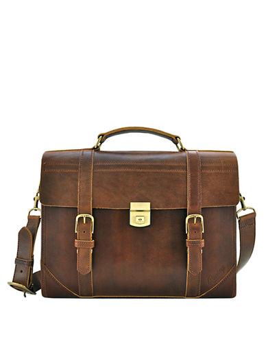 RAWLINGSLeather Messenger Bag