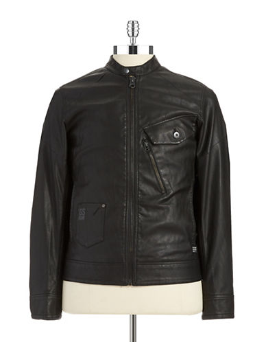 G-STAR RAW Slim Fit Moto Jacket