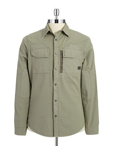 G-STAR RAWRackler Twill Zip Shirt