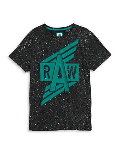 G-STAR RAWSplatter Logo Tee