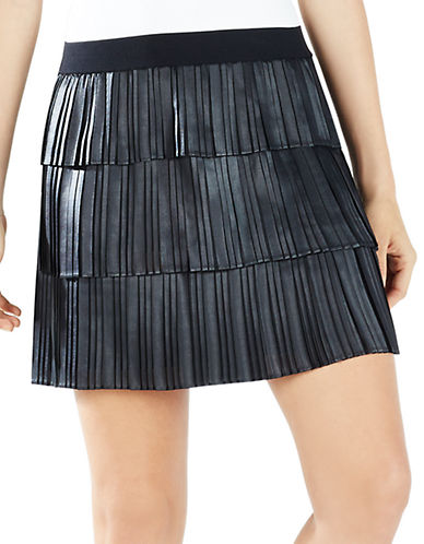 BCBGMAXAZRIAZana Pleated Mini Skirt