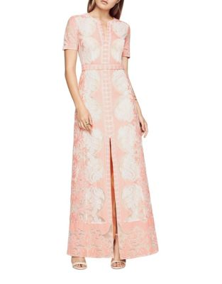 Cailean Short Sleeve Lace Gown